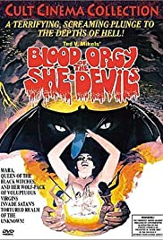 Blood Orgy of the She-Devils Poster