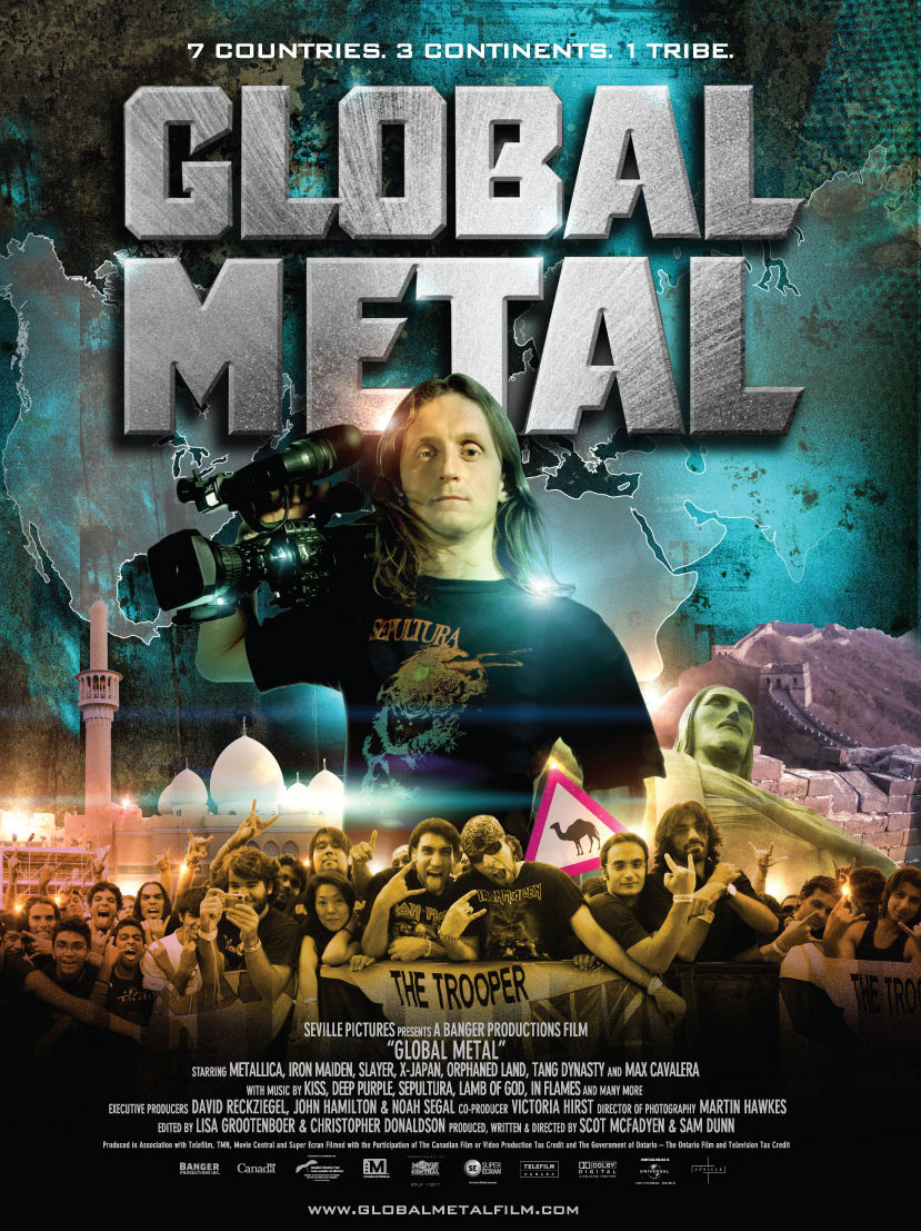 Sam Dunn in Global Metal (2008)