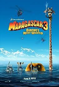 Jada Pinkett Smith, Chris Rock, David Schwimmer, and Ben Stiller in Madagascar 3: Europe's Most Wanted (2012)