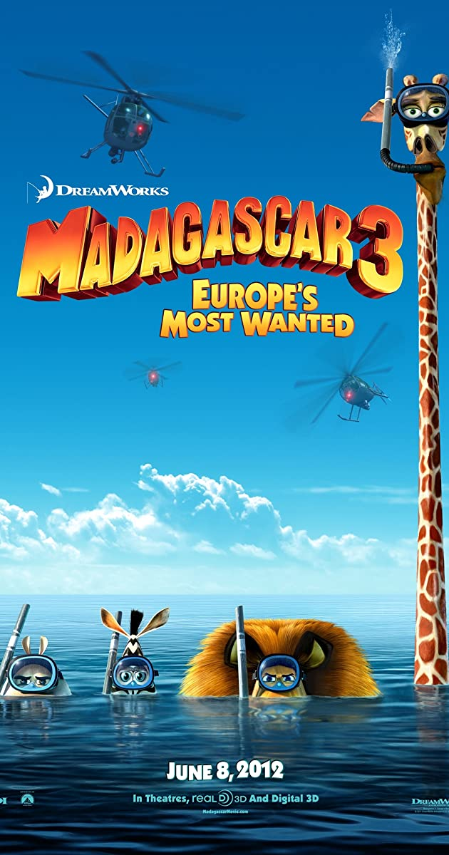 Subtitle of Madagascar 3: Europe's Most Wanted