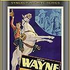 John Wayne and Alberta Vaughn in Randy Rides Alone (1934)