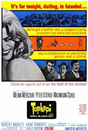 Topkapi (1964) Poster - Movie Forum, Cast, Reviews