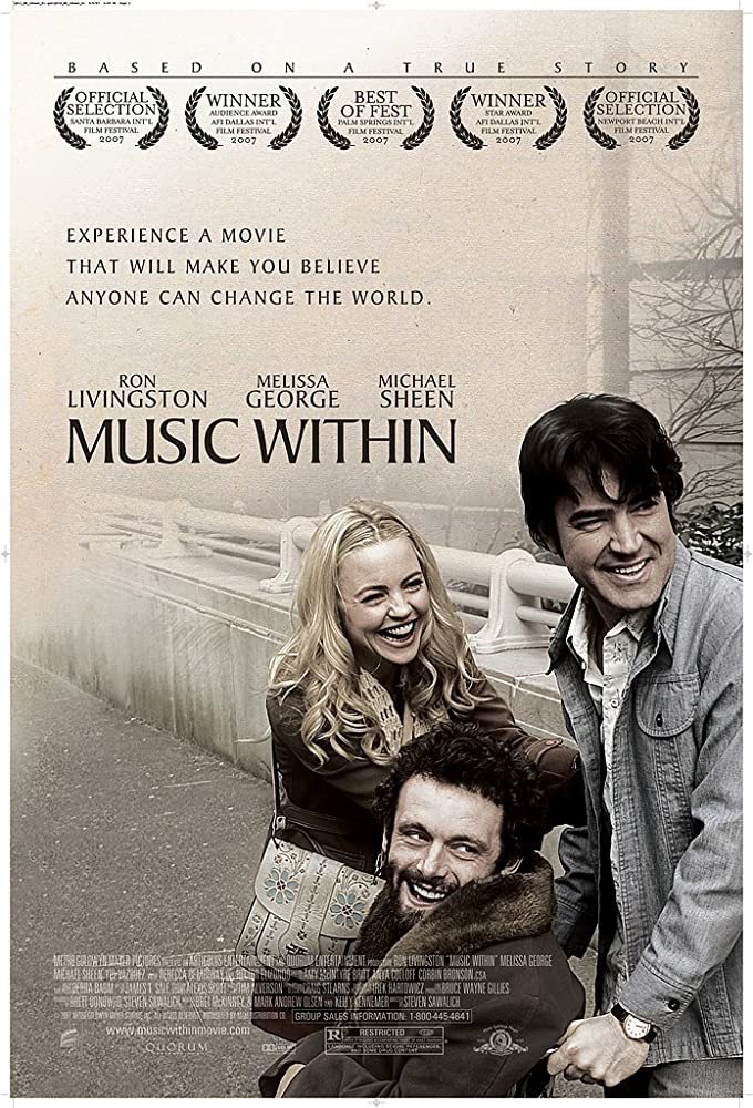Melissa George, Ron Livingston, and Michael Sheen in Music Within (2007)