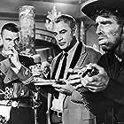 Gary Cooper, Burt Lancaster, and Henry Brandon in Vera Cruz (1954)