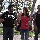 Robbie Moore, Amanda Groth, and Jirard Khalil in Kissing School for Losers (2011)
