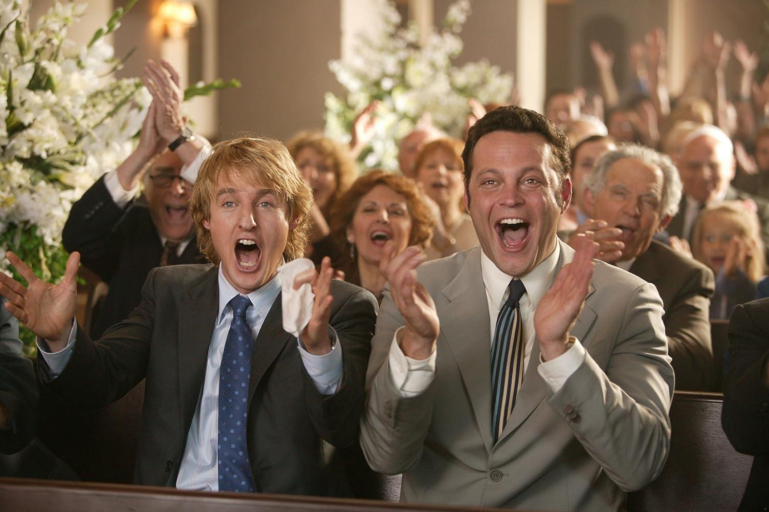 Vince Vaughn and Owen Wilson in Wedding Crashers (2005)