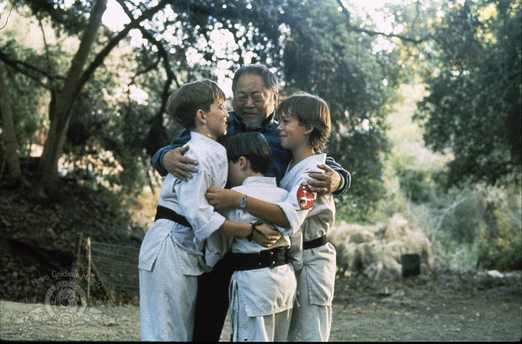 Chad Power, Max Elliott Slade, Michael Treanor, and Victor Wong in 3 Ninjas (1992)