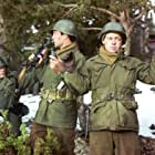 James MacArthur and George Montgomery in Battle of the Bulge (1965)