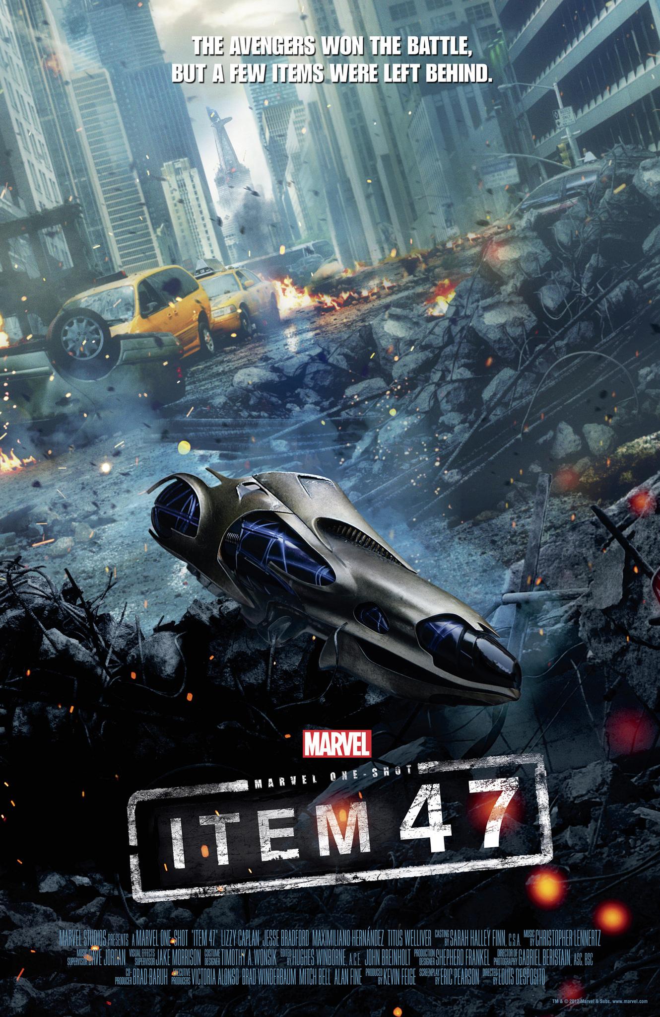 Marvel One Shot Item 47 Video 2012 Imdb