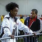 Noel Clarke and Lashana Lynch in Fast Girls (2012)