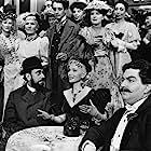 José Ferrer, Zsa Zsa Gabor, and Harold Kasket in Moulin Rouge (1952)