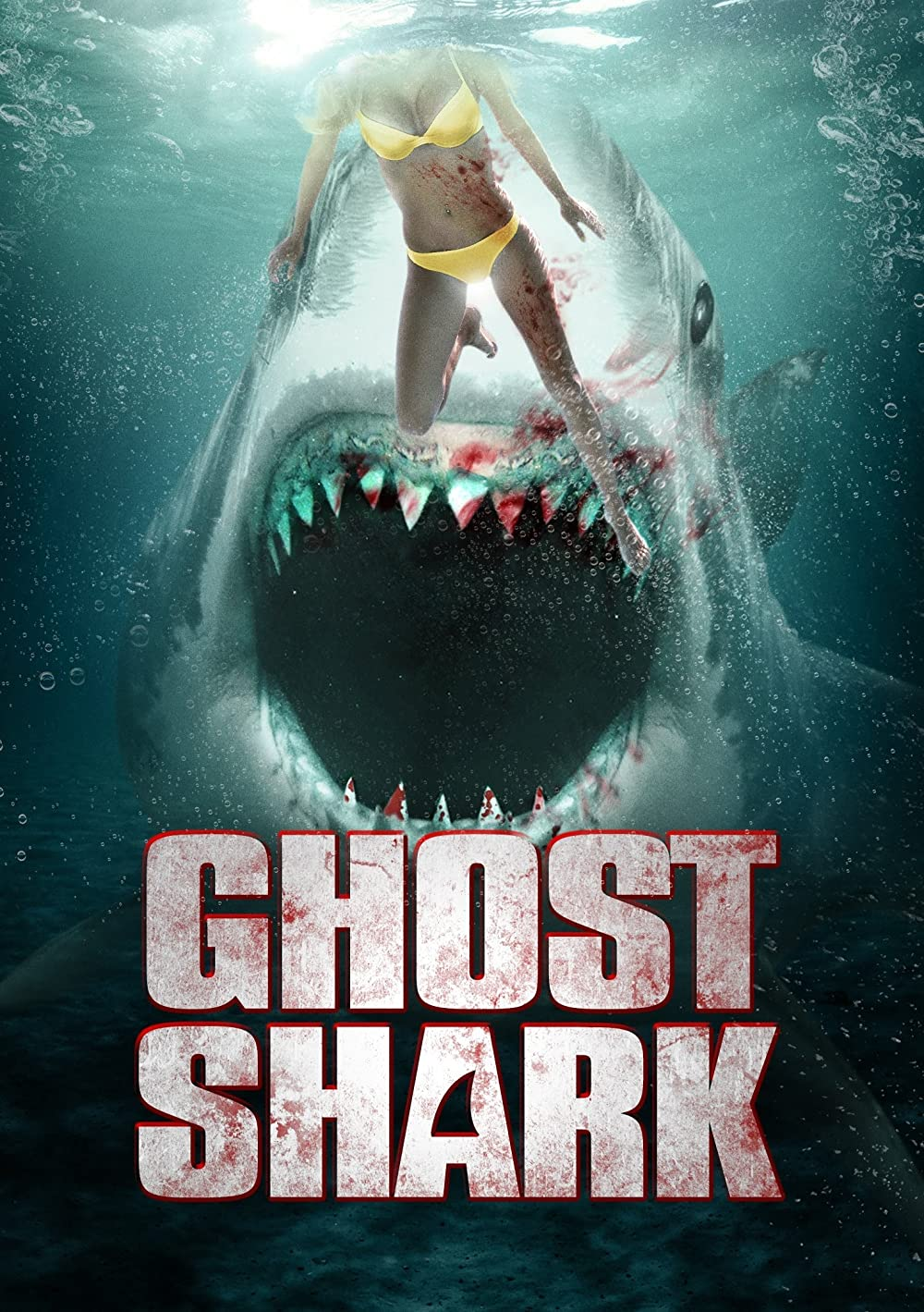 Ghost Shark 2013 Hindi ORG Dual Audio 300MB UNRATED BluRay 480p ESubs Download
