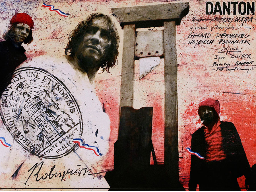Gérard Depardieu in Danton (1983)