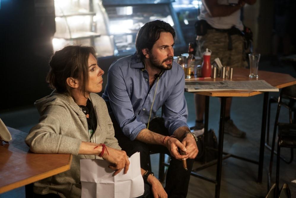 Kathryn Bigelow and Mark Boal in Zero Dark Thirty (2012)
