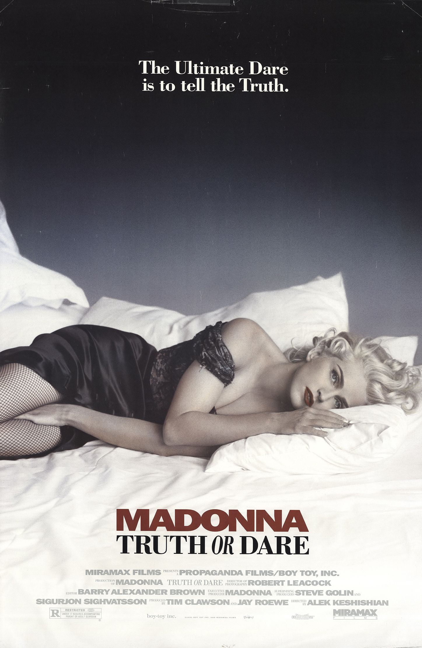 Madonna: Truth or Dare (1991) - IMDb