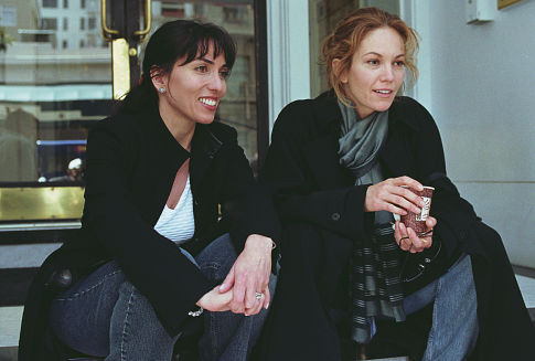 Diane Lane and Audrey Wells in Under the Tuscan Sun (2003)
