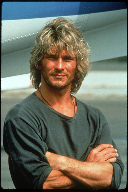 Patrick Swayze in Point Break 1991