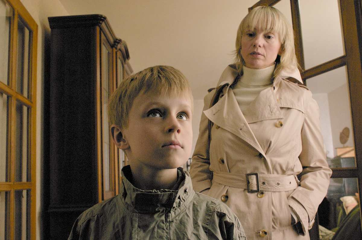 Gelmis Naujikas (as Paul) and Dalia Micheleviciute (as Nora) from the film LOSS set