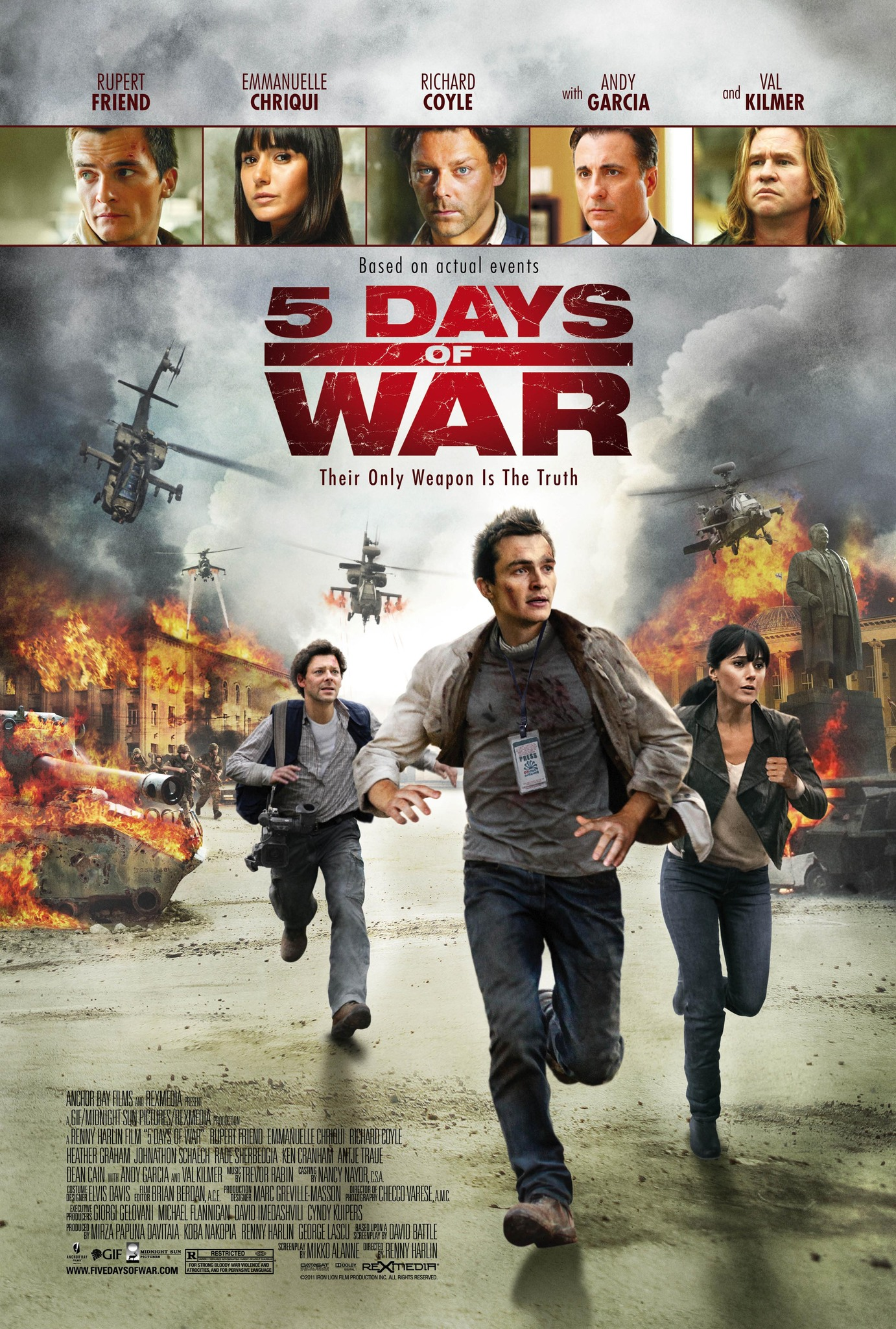 5 Days of War 2011 IMDb