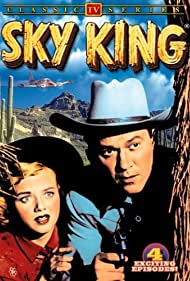 Kirby Grant and Gloria Winters in Sky King (1951)