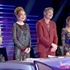 Dave Hughes, Lindsay Lohan, Dannii Minogue, and Jackie O in The Masked Singer Australia (2019)