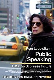 Public Speaking Poster