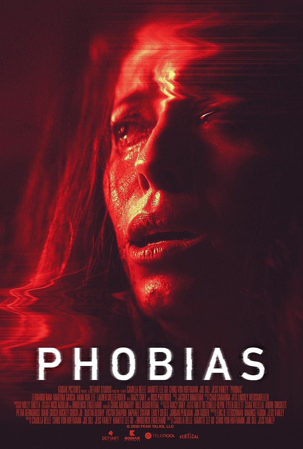 Phobias 2021 English 720p HDRip 800MB | 300MB Download