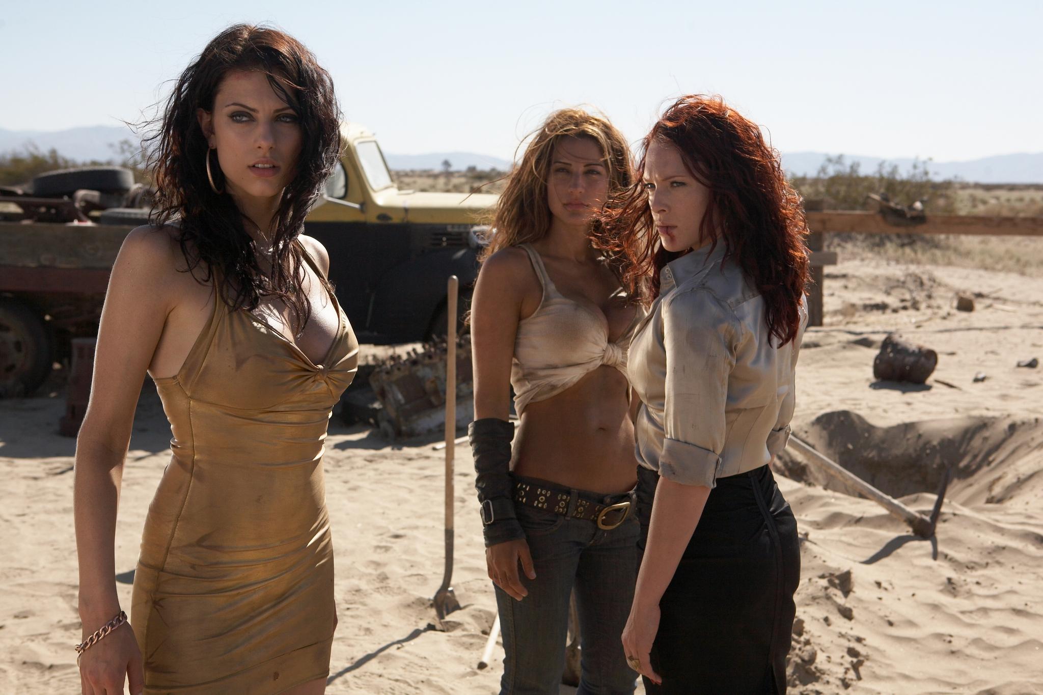 Erin Cummings, America Olivo, and Julia Voth in Bitch Slap (2009)