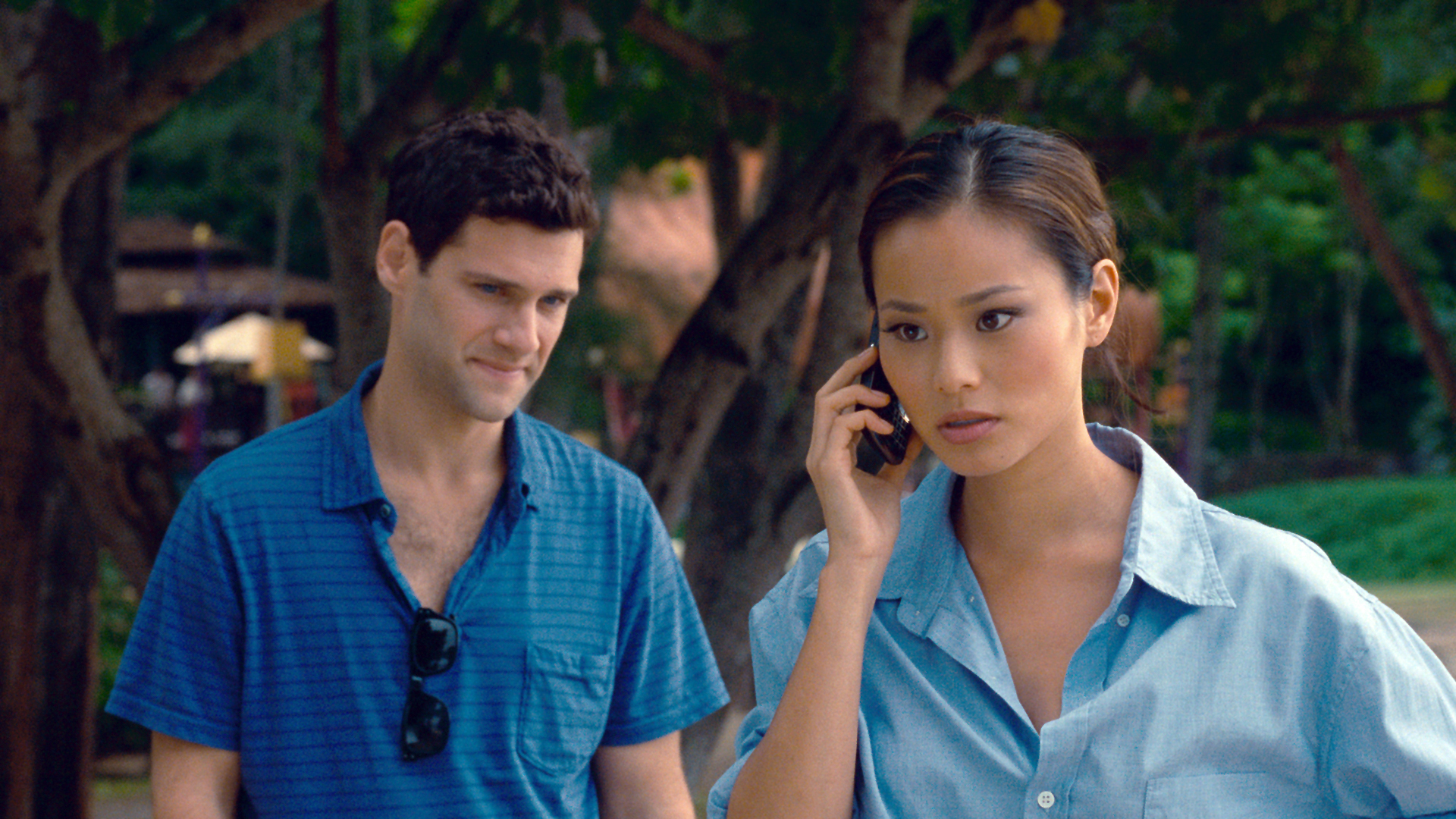 Justin Bartha and Jamie Chung in The Hangover Part II (2011)