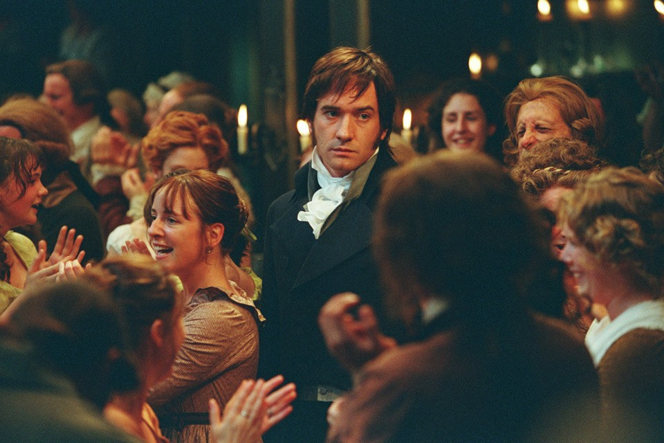 Claudie Blakley, Matthew Macfadyen, and Carey Mulligan in Pride & Prejudice (2005)