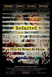 Redacted(2007) Poster - Movie Forum, Cast, Reviews