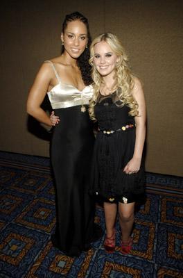 Alicia Keys and Cheyenne Kimball