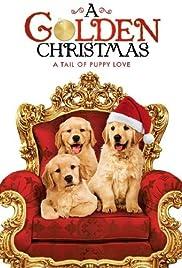 a golden christmas poster - A Golden Christmas Cast