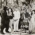Charlita, Ray Corrigan, Al Kikume, Muriel Landers, and Sammy Petrillo in Bela Lugosi Meets a Brooklyn Gorilla (1952)