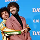 Benny Blanco and Dave Burd at an event for Dave (2020)