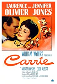 Carrie (1952) Poster - Movie Forum, Cast, Reviews