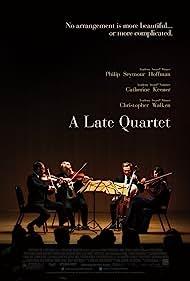 Philip Seymour Hoffman, Christopher Walken, Catherine Keener, and Mark Ivanir in A Late Quartet (2012)