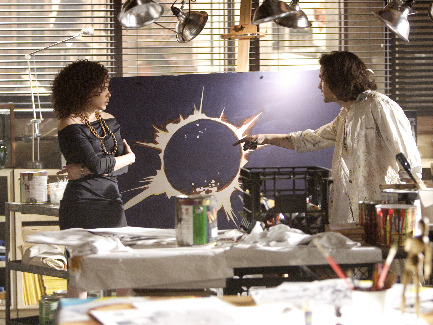 Tawny Cypress and Santiago Cabrera in Chapter One 'Genesis' (2006)