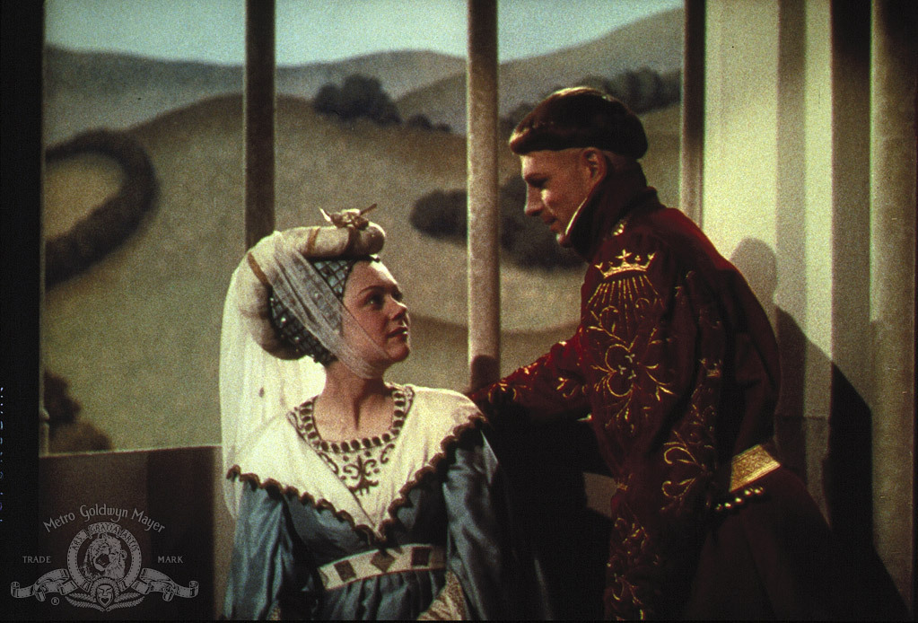 Laurence       Olivier and Renée Asherson in The Chronicle History of King Henry       the Fifth with His Battell Fought at Agincourt in France (1944)