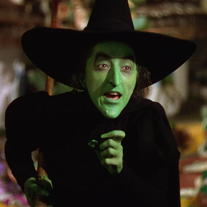 Margaret Hamilton in The Wizard of Oz (1939)