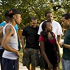 Vince Green, Shad Moss, Jason Weaver, Brandon T. Jackson, and Naturi Naughton in Lottery Ticket (2010)