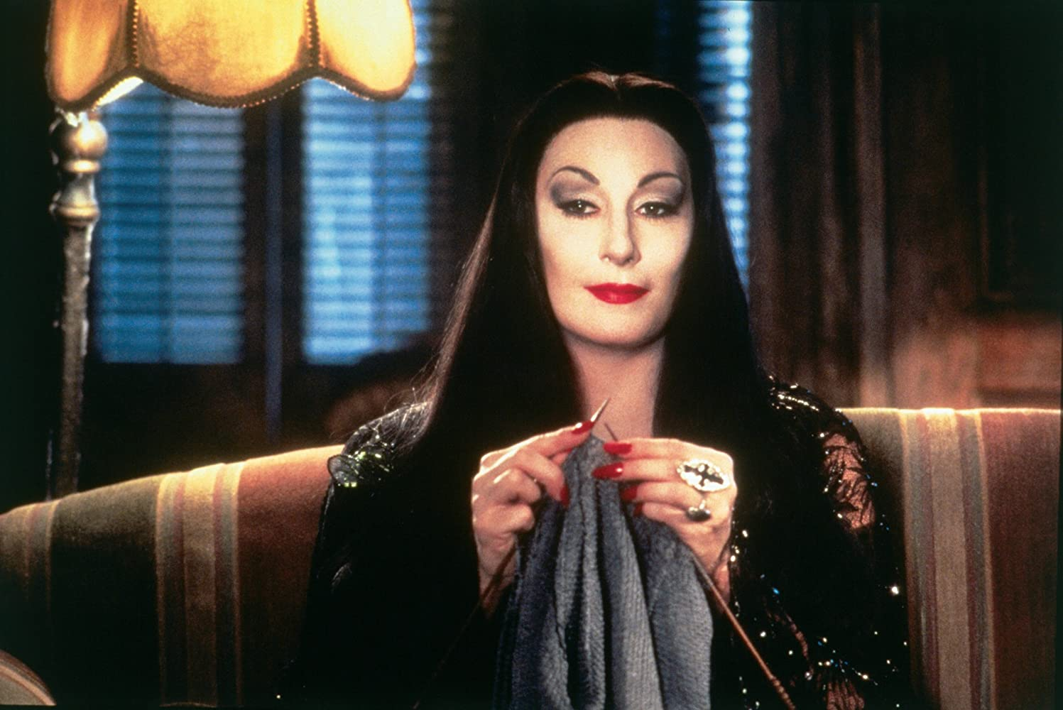 Anjelica Huston in Addams Family Values (1993)