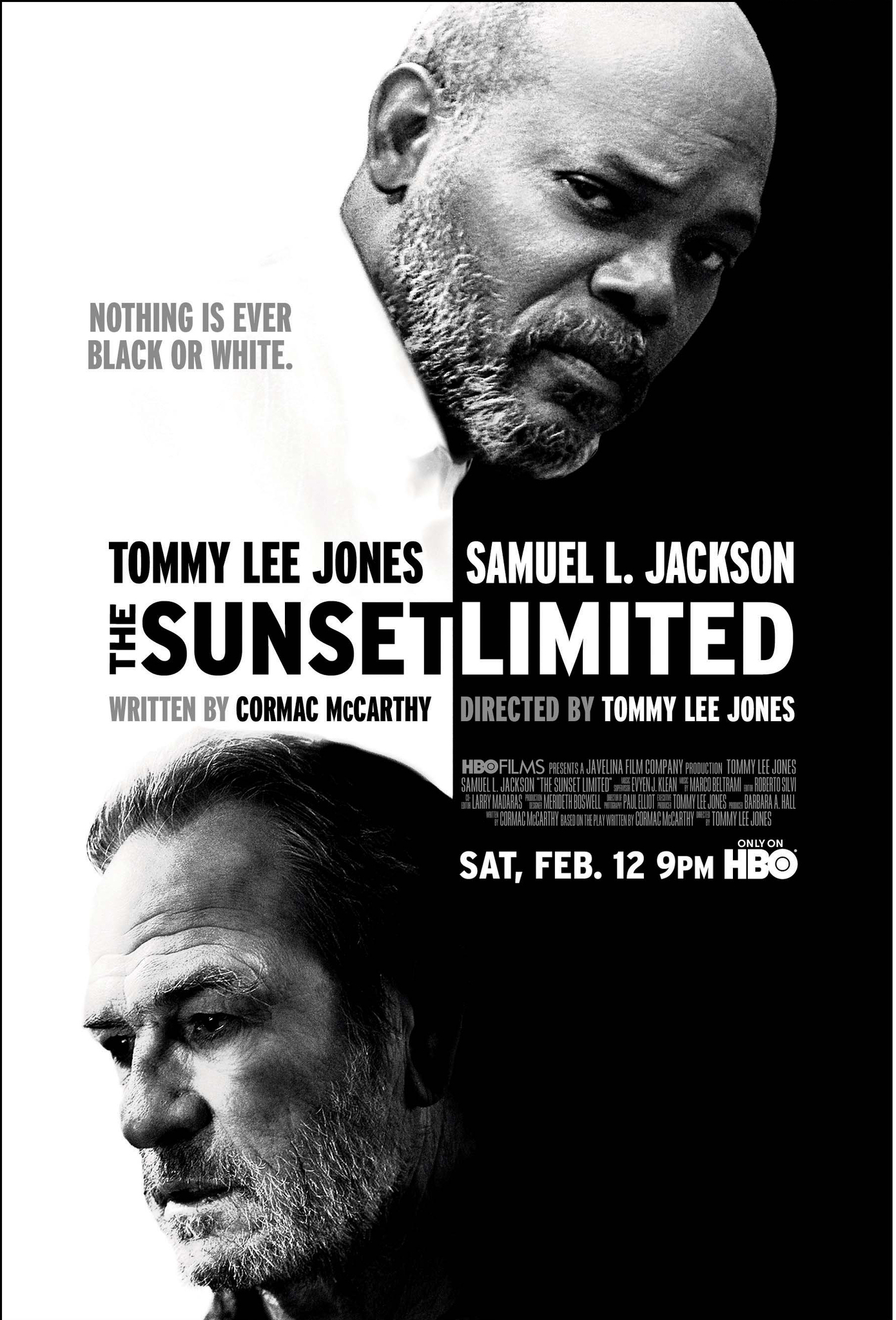 The Sunset Limited Tv Movie 2011 Imdb