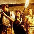 Brendan Fraser, John Hannah, and Rachel Weisz in The Mummy (1999)