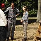 Keri Russell, Peter Serafinowicz, Debargo Sanyal, and Stefania LaVie Owen in Running Wilde (2010)