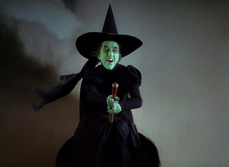 Margaret Hamilton in The Wizard of Oz 1939