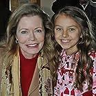 Caitlin Carmichael and Sheree Wilson on set of Saving Santa December 2011