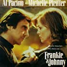 Al Pacino and Michelle Pfeiffer in Frankie and Johnny (1991)