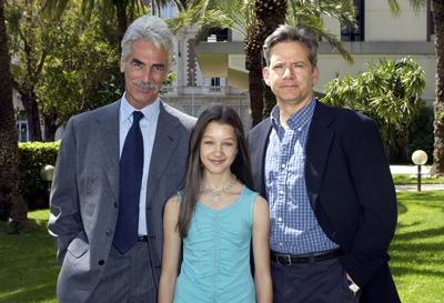 Sam Elliott, Campbell Scott, and Valentina de Angelis at an event for Off the Map (2003)