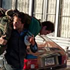 Johnny Knoxville and Rodrigo Santoro in The Last Stand (2013)